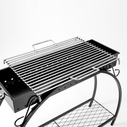 Решетки - Решетка гриль 'Кованая' 50 х 70, нержавеющая сталь, 0