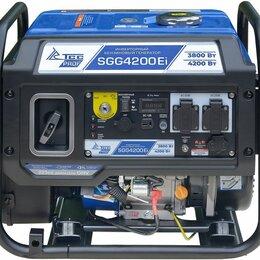 Электрогенераторы и станции - Бензогенератор инверторный SGG 4200Ei с блоком АВР, 0