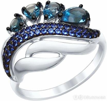 Кольцо SOKOLOV 92011419_s_17 по цене 1560₽ - Кольца и перстни, фото 0