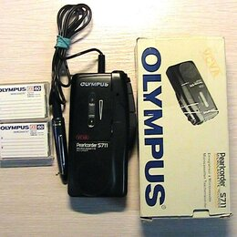 Диктофоны - Диктофон Olympus Pearlcorder S711, 0