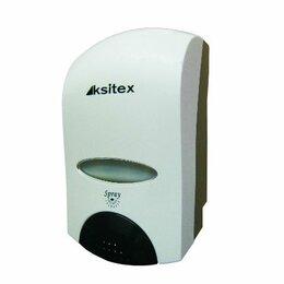 Прочие аксессуары - Ksitex дозатор для пены FD-6010 пластиковый, белый, 1л., 0