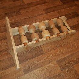 Другие массажеры - Массажер деревянный для лечения спины, 0
