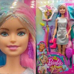 Куклы и пупсы - 🌹 Барби Единорожка, Русалочка, с радужными волосами, 0