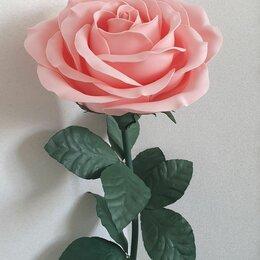 Торшеры и напольные светильники - Розовая роза из изолона светильник, 0