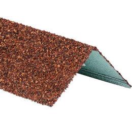 Отделочный профиль, уголки - Уголок внешний металлический HAUBERK Терракотовый 50*50*1250мм, 0
