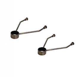Уголки, кронштейны, держатели - Комплект кронштейнов для крепления к стене, 0