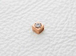 Кулоны и подвески - Кулон с 7 бриллиантами из комбинированного золота, 0