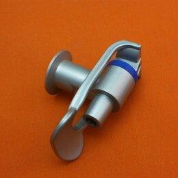 Кулеры для воды и питьевые фонтанчики - Кран серебряный кулера внутренняя резьба синий, 0
