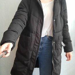 Пуховики - Zolla пуховик женский черный S, 0
