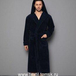 Домашняя одежда - Мужской халат с капюшоном Nusa Mayer 2XL темно-синий, 0