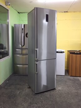 Холодильники - Холодильник металлик бу no frost Beko, 0
