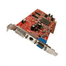 Видеокарты - Видеокарта AGP PowerColor RADEON 9600 TVO DVI, 0