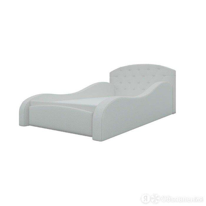 Детская кровать «Майя», механизм выкатной, экокожа, цвет белый по цене 32040₽ - Кровати, фото 0