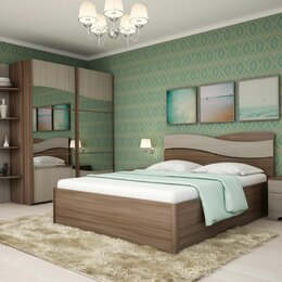 Кровати - Спальный гарнитур Сорренто-3, 0