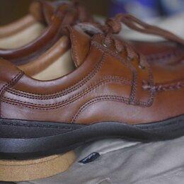 Туфли - оригинал ботинки английские Clarks осень-Зима, разм. 42, натур.кожа, 0
