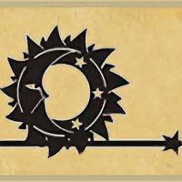 """Флюгеры - Флюгер """"Солнце и месяц"""" (26001), 0"""