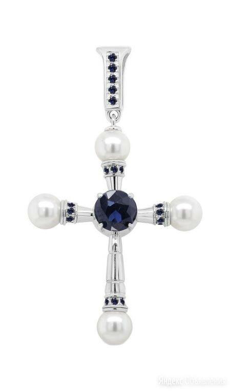 Крестик Kabarovsky 3-250-40800 по цене 3460₽ - Кулоны и подвески, фото 0