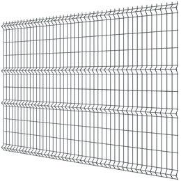 Заборы, ворота и элементы - Панель MEDIUM 2,03х2,50м RAL7040 Серый сварная 3Д сетка гиттер, 0