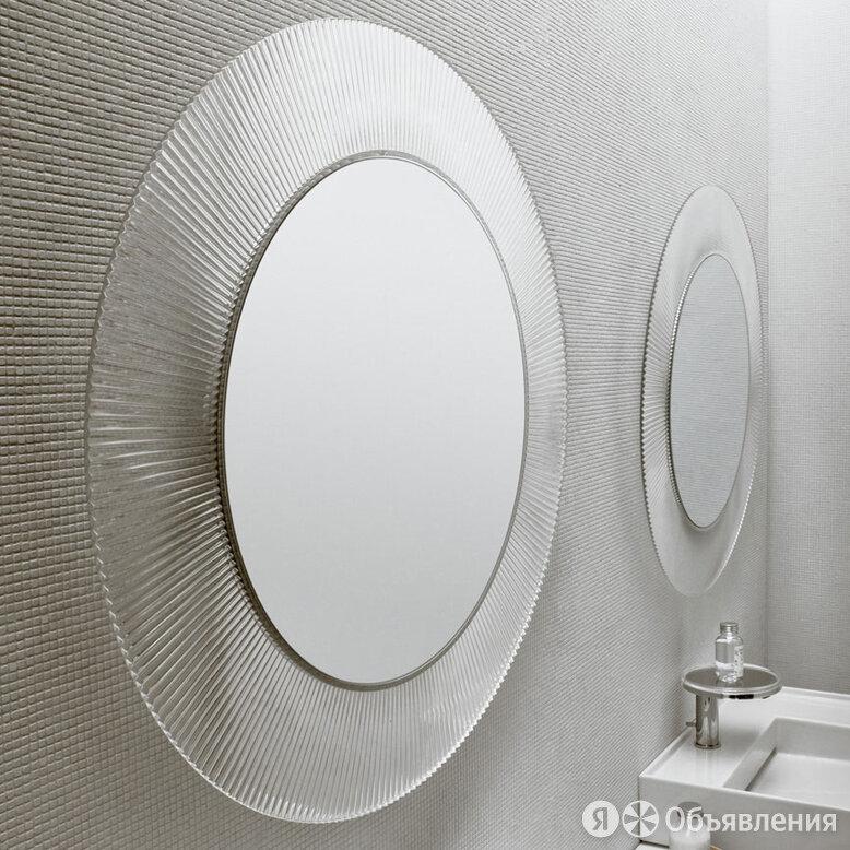 Зеркало Laufen Kartell by Laufen 80 прозрачное по цене 29530₽ - Полки, шкафчики, этажерки, фото 0