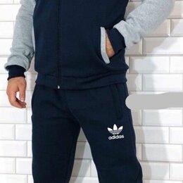 Спортивные костюмы - Мужской тёплый спортивный костюм р-ры 44-54, 0