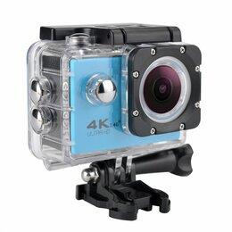 Видеокамеры - Action камера синяя, 0