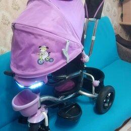 Трехколесные велосипеды - Велосипед - коляска детский , 0