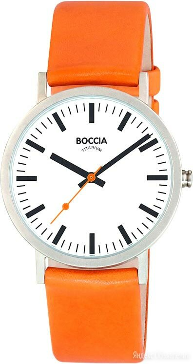 Наручные часы Boccia Titanium 3651-05 по цене 6790₽ - Наручные часы, фото 0