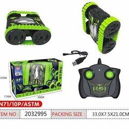 Радиоуправляемые игрушки - Машина SY028A трюковая на радиоуправлении на батарейках+ USB переходник, 0