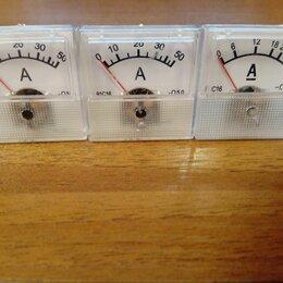 Измерительные инструменты и приборы - Амперметры стрелочные 30А и 50А, 0