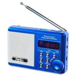 Радиоприемники - Радиоприемник Perfeo Sound Ranger, УКВ,акк.1000mAh,220V,USB,microSD,дисплей, ..., 0
