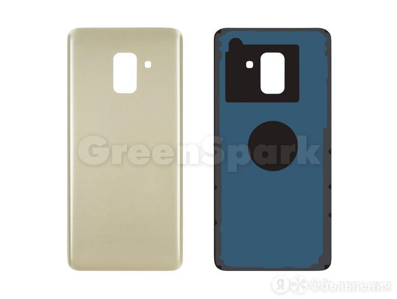 Задняя крышка для Samsung A530 Galaxy A8 (2018) (золото) по цене 230₽ - Корпусные детали, фото 0