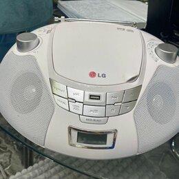 Музыкальные центры,  магнитофоны, магнитолы - Магнитола LG SB-16W, 0