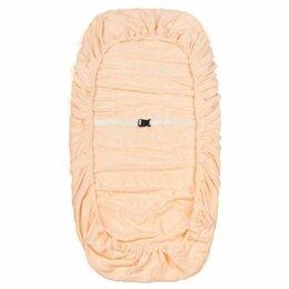 Чехлы для мебели - Чехол на кушетку махровый 90*215см персиковый, 0