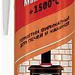Изоляционные материалы - Герметик каучуковый Sila PRO Max, 1500  для печей 280мл., 0