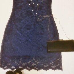 Платья - Платье кружевное на подкладке , 0