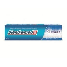 Зубная паста - Паста зубная Blend A Med 100мл 3D Вайт, 0