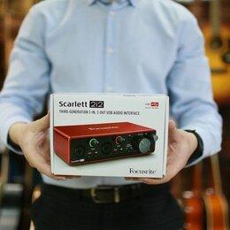 Звуковые карты - Аудиокарта FOCUSRITE Scarlett 2i2 3rd Gen , 0