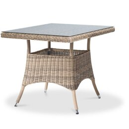 Столы - Обеденный стол из ротанга Айриш, 0