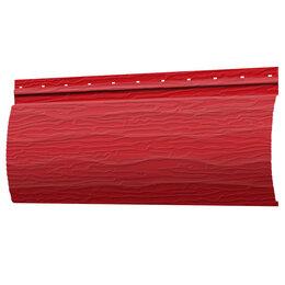 Сайдинг - Сайдинг Бревно Рубленое 4Д RAL3020 Красный 32х230хПМ, 0