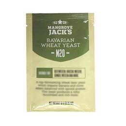 Ингредиенты для приготовления напитков - Дрожжи пивные MANGROVE JACK'S Bavarian Wheat M20, 0