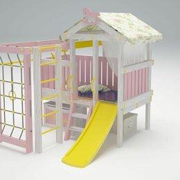 Игровые и спортивные комплексы и горки -  Игровой комплекс Савушка Baby 1 розовый, 0