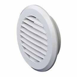 Вентиляционные решётки - Пластмассовая круглая решетка Эвент ПКР 195/150, 0