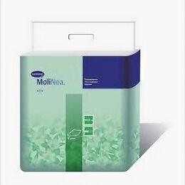 Пеленки, клеенки - HARTMANN MOLINEA PLUS Пеленки впитывающие 90х60 см, 110 г/м?, 5 шт. , 0