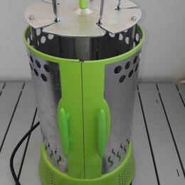 Электрические грили и шашлычницы - Электрошашлычница kitfort kt-1402 зелёная, 0