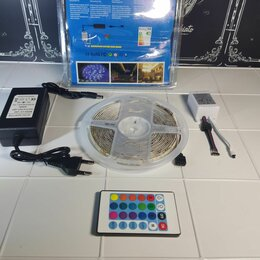 Светодиодные ленты - Led rgb лента светодиодная, 0