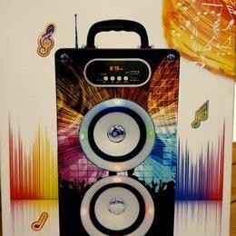 Портативная акустика - Колонка бумбокс MP3 KBQ-162 BLUETOOTH, 0