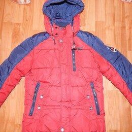 Куртки и пуховики - Зимняя куртка-парка на пуху р.128, 0