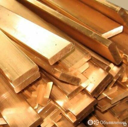 Полоса бронзовая 12,5х305х1300, БрАМц9-2 по цене 1400₽ - Металлопрокат, фото 0