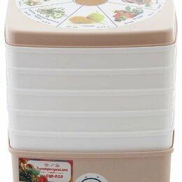 Сушилки для овощей, фруктов, грибов - Сушилка для овощей и фруктов Ротор Дива-Люкс СШ-010-02 5 под, вент., 0