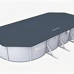 Тенты и подстилки - Тент 748х371 см для стальных бассейнов 740х360х120 см, Bestway, арт. 58455, 0